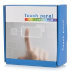 TM08RGBW 4-CH LED RGB tira ligera Touch Panel controlador - blanco + multicolor (DC 12 ~ 24V)
