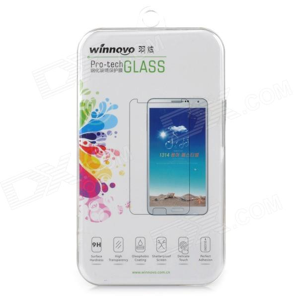 Winnovo 2.5G-S4 Protective 2.5D Tempered Glass Screen Guard for Samsung S4 i9500 - Transparent pudini protective 0 4mm tempered glass screen protector guard film for samsung galaxy s4 i9500