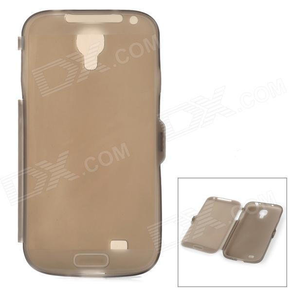 Protective Ultrathin TPU Full Body Case for Samsung Galaxy S4 i9500 - Translucent Black