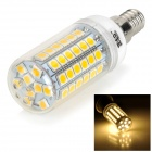 JRLED E14 7W 3300K 390lm 69-SMD 5050 LED Warm White Light Bulb (AC 220 ~ 240V)