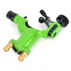 JV-01 Zinc Alloy RTM Tattoo Machine - Green