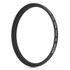 BRODA Universal 62mm Slim Multi Coated MC-UV Filter Lens for Camera - Black