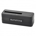 Sunshine Portable Battery Charging Station for Samsung Galaxy S5 - Black