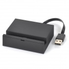 Convenient Desktop Charging Station for HTC M8 - Black