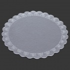 FHD175 Round Anti-Slip Heat Insulation PVC Mat Pad for Dishware - Transparent (17.5cm)