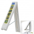 Multifunction ABS Resin Folding Wall Hanger - White