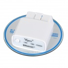 OBDII Bluetooth Diagnostic Apparatus for Car - White