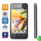 "HUAWEI Y320 Android 2.3.6 Dual-core WCDMA Bar Phone w/ 4.0"" Screen and Wi-Fi - Black"