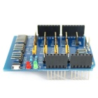 Expansion Board Base Shield / Sensor Shield for Arduino - Blue + Black + Yellow