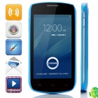 "DOOGEE Collo3 DG110 MTK6572 Dual-core Android 4.2.2 WCDMA Bar Phone w/ 4.0"" IPS, 4GB ROM, GPS - Blue"