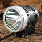 W-001 500lm LED Cool White Light 3-Mode Bike Headlamp - Grey + Silver (7.4~8.6V)