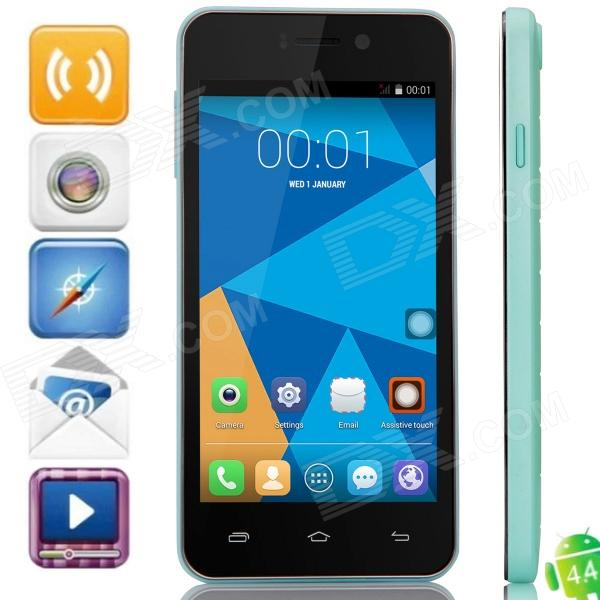 DOOGEE VALENCIA DG800 Quad-Core Android 4.4.2 Bar Phone w/ 4.5 IPS, Back Touch, GPS, OTA оправа valencia оправа valencia 32014 с6