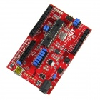 Compatible chipKIT Pi for Raspberry Pi Based on PIC32MX250F128B MCU for Arduino - Red