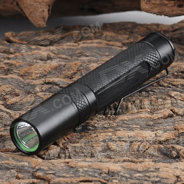 FANDYFIRE Mini M20 50lm Flashlight w/ CREE XR-E Q5 / Clip (1 x AAA) fandyfire mini portable 3 mode white light flashlight w cree xr e q5 grey 1 x 14500 or 1 x aa