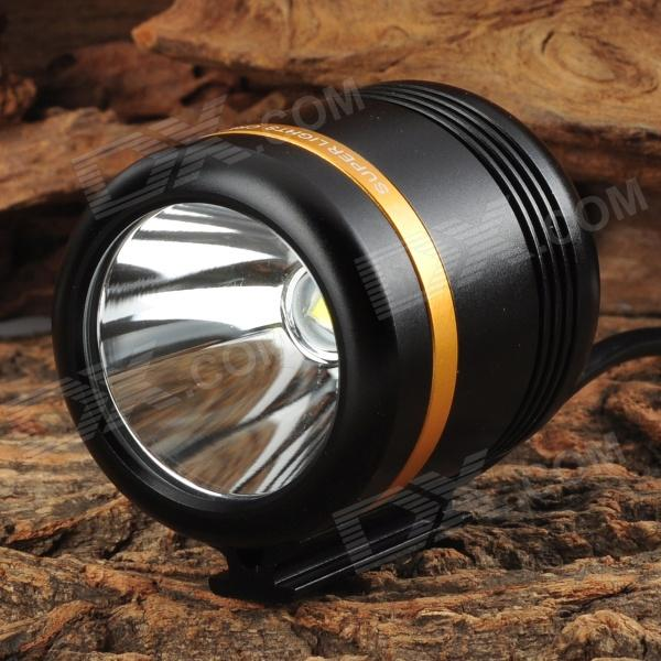 WindFire 360 Degree Rotary 500lm 1-LED Cool White 5-Mode Bike Lamp - Black (4.2~5.2V)