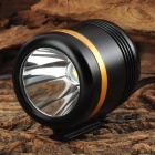 WindFire 360 Degree Rotary 500lm 1-Cree XM-L U2 LED Cool White 5-Mode Bike Lamp - Black (4.2~5.2V)