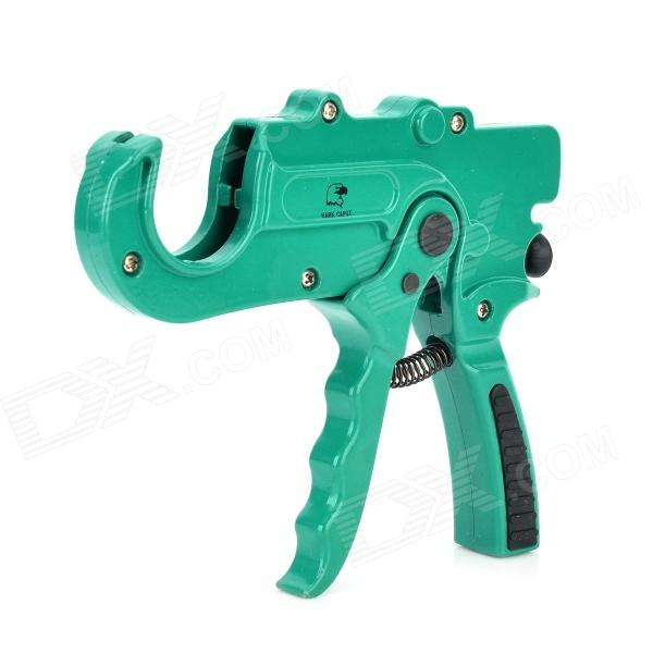 Harkcaput YT-234007 Aluminum Alloy PVC / PE Pipe Cutter - Green ds ct 107 aluminum alloy pipe cutter silver black