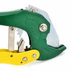 Harkcaput YT-234001 Aluminum Alloy + Stainless Steel PVC Pipe Cutter - Yellow + Green