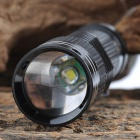 SK528 LED 3-mode White Light Zoom Flashlight (1 x AA / 1 x 14500)