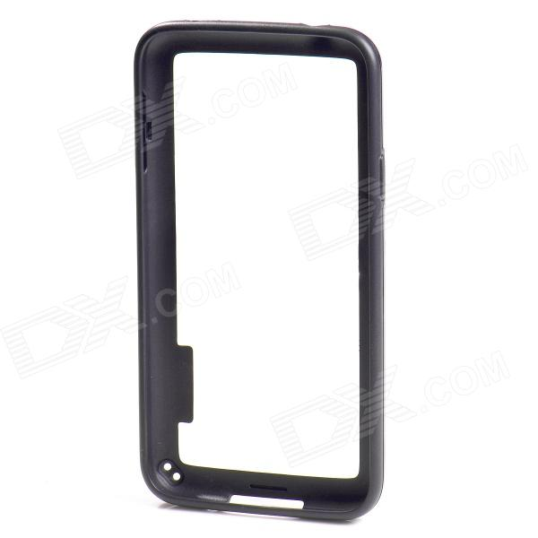Protective TPU + PC Bumper Frame for Samsung Galaxy S5 - Black protective tpu   pc bumper frame for lg