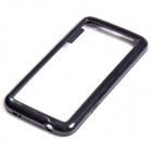 Protective TPU + PC Bumper Frame for Samsung Galaxy S5 - Black