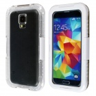 Professional Ultra-Thin Waterproof Dirtproof Shockproof Protective Case for Samsung Galaxy S5 -White