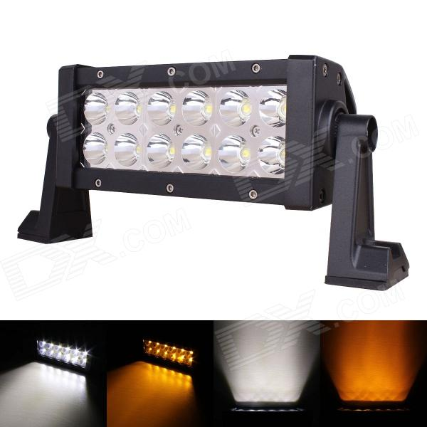 MZ 7.7 36W 2880lm 30┬░ Spot LED Work Light Bar Off-road SUV ATV Fog Lamp White/Yellow Light (10~30V) brand new universal 40 w 6 inch 12 v led car work light daytime running lights combo light off road 4 x 4 truck light