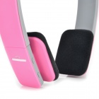 BQ-618 Stylish Bluetooth V3.0 Stereo Headset w/ Mic for IPHONE + More - Pink + Grey