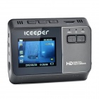 "Iceeper A8 2.0"" TFT 3.0 MP CMOS 720P Wide Angle Car Digital Video Camcorder DVR w/ G-sensor"
