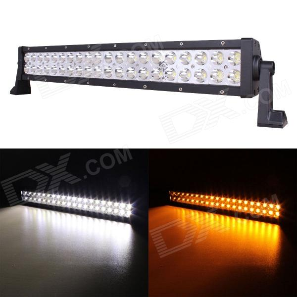 MZ 22 120W 9600lm 30┬░ Spot LED Work Light Bar Off-road SUV ATV Fog Lamp White/Yellow Light (10~30V) brand new universal 40 w 6 inch 12 v led car work light daytime running lights combo light off road 4 x 4 truck light