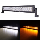 "MZ 22"" 120W 9600lm 30° Spot LED Work Light Bar Off-road SUV ATV Fog Lamp White/Yellow Light (10~30V)"