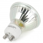 GU10 3W 250lm 3200K 36-SMD 2835 LED Warm White Light Spotlight - White + Transparent (AC 100~240V)