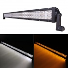 "MZ 42"" 240W 20400lm 30° Spot LED Work Light Bar Off-road SUV ATV Fog Lamp White/Yellow Light(10~30V)"