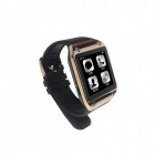 "Mimi W2 Wearable 1.48"" Touch Screen Smart Watch w/ Bluetooth & Pedometer - Black + Golden"