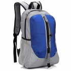 LKLR 001 Outdoor Sports Nylon-Rucksack - Blau + Grau (25L)