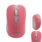 Goldpo GP-3003 2.4G Wireless 800/1200/1600dpi Optical Mouse - Pink + White (1 x AA)