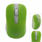 Goldpo GP-3003 2.4G Wireless 800/1200/1600dpi Optical Mouse - Green + White (1 x AA)