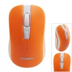 Goldpo GP-3003 2.4G Wireless 800/1200/1600dpi Optical Mouse - Orange + White (1 x AA)