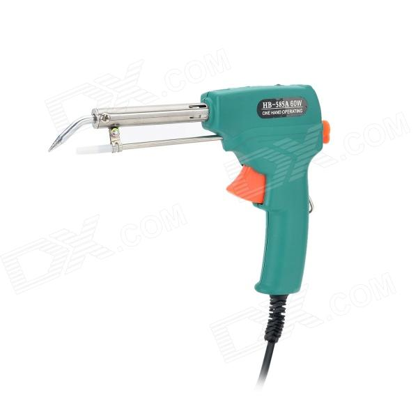 60W Handheld Lead-free Electronic Soldering Gun - Blue + Black + Multi-Colored