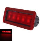 GT-81032B Excellent 3W 50lm 635nm 5-LED Brightness Brake Lamp For All Cars - Black + Red (12V)