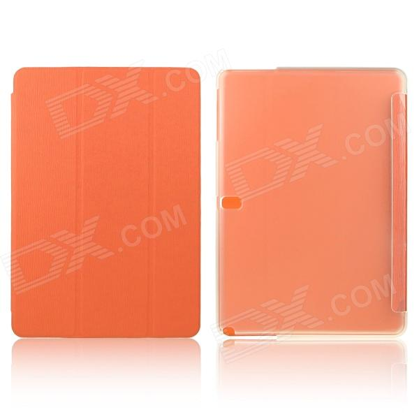 ENKAY ENK-7044 3-Fold PU Leather Case Cover Stand for Samsung Galaxy Tab Pro 10.1 T520 - Orange