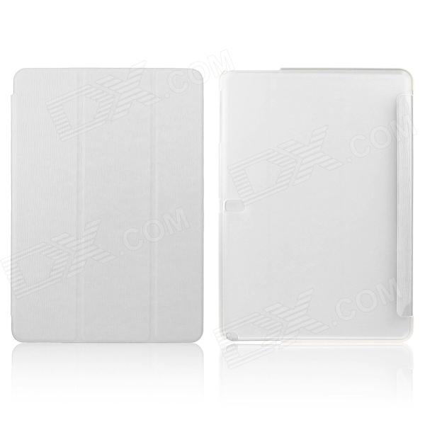 ENKAY ENK-7044 3-Fold PU Leather Case Cover Stand for Samsung Galaxy Tab Pro 10.1 T520 - White