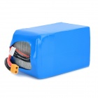 0037 Replacement 15000mAh 6S 30C 22.2V Lithium Polymer Battery for UAV Unmanned Plane - Blue