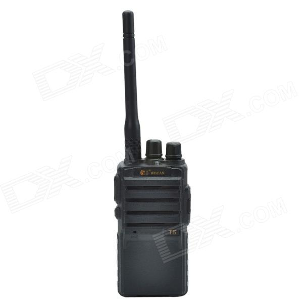 Vikan T5 5W 16-kanals 400 ~ 470MHz Walkie Talkie - svart