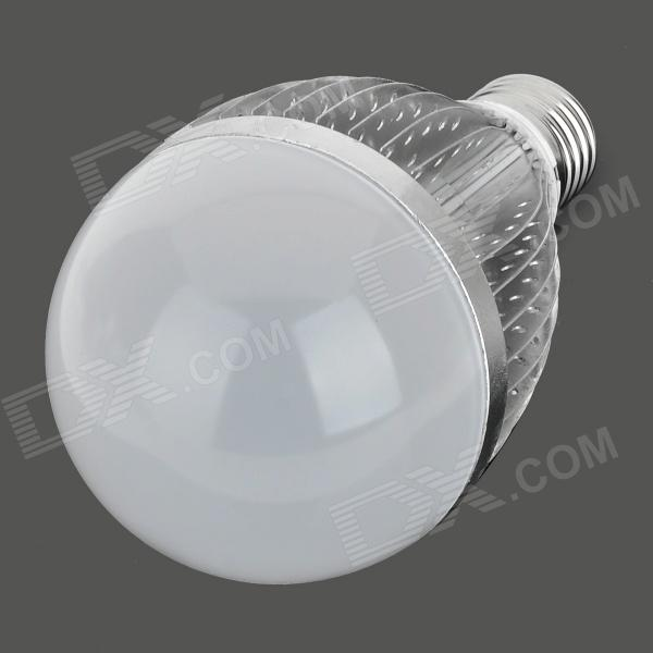 FY 013 E27 12W 12-LED Bulb Shell Case - Silver + White infiniti fy 3208h fy 3208r fy 3208g printer encoder strip printer parts