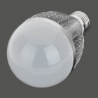 FY 013 E27 12W 12-LED Bulb Shell Case - Silver + White