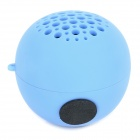 R-XIAO GS91 Plastic Speaker w/ Strap - Blue (3.5mm)