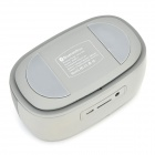 A06 Mini Portable Bluetooth 3.0 Handsfree Wireless Speaker w/ TF - Grey
