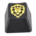 KBC R4 Mechanical Keyboard Cap Alliance Keycap - Black + Yellow