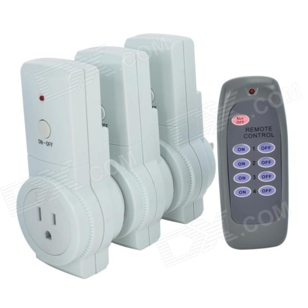 TaiShen Wireless US Plug-in Socket with Remote Controller